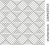 abstract geometric pattern with ... | Shutterstock .eps vector #1369635515