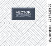 vector seamless geometric... | Shutterstock .eps vector #1369635602