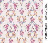 seamless decorative elegant... | Shutterstock .eps vector #1369642502
