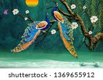 3d Peacock Wallpaper
