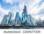 Modern Tower Buildings Or...
