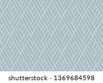abstract geometric pattern with ... | Shutterstock . vector #1369684598