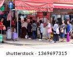yaumatei hong kong   april 15 ...   Shutterstock . vector #1369697315
