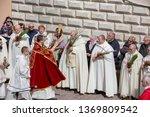 poland  czestochowa   14 april... | Shutterstock . vector #1369809542