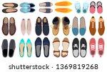 set of men's and women's shoes  ... | Shutterstock .eps vector #1369819268