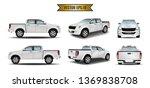 set cars white realistic... | Shutterstock .eps vector #1369838708