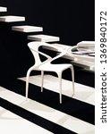 conceptual black and white...   Shutterstock . vector #1369840172