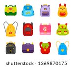 vector collection of... | Shutterstock .eps vector #1369870175