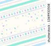 easter poster background | Shutterstock .eps vector #1369933508