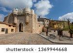 medieval castle of hita ...   Shutterstock . vector #1369944668