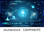 abstract technology ui...
