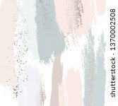 pastel green peach glitter...   Shutterstock .eps vector #1370002508
