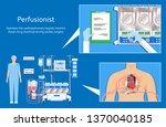 cardiopulmonary bypass heart...   Shutterstock .eps vector #1370040185