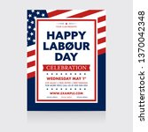 event labour day poster... | Shutterstock .eps vector #1370042348