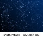 big data cloud scientific... | Shutterstock .eps vector #1370084102