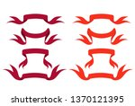 ribbons fashion colors | Shutterstock .eps vector #1370121395