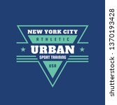 urban sport training athletic... | Shutterstock .eps vector #1370193428