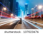shanghai lujiazui finance  ... | Shutterstock . vector #137023676