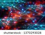 ai technology  data deep...   Shutterstock . vector #1370293028