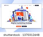 landing page template of... | Shutterstock .eps vector #1370312648