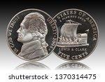 Five American Cents Gradient...