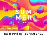 summer abstract gradient... | Shutterstock .eps vector #1370351432