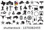 texas vector icons set  flag ...