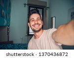 Handsome Caucasian Man Taking A ...