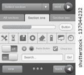 ui elements for  tablet pc and...