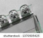 conceptual model of glass... | Shutterstock . vector #1370505425