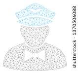 mesh airline steward polygonal... | Shutterstock .eps vector #1370506088