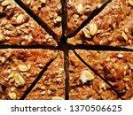 slices of artisan brown bread...   Shutterstock . vector #1370506625