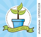 earth day card | Shutterstock .eps vector #1370531228