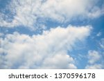 dramatic clouds dramatic... | Shutterstock . vector #1370596178