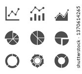 chart and graph icons | Shutterstock .eps vector #1370614265