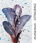 painting  contemporary art.... | Shutterstock . vector #1370618462