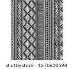 geometric vector pattern  | Shutterstock .eps vector #1370620598
