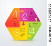 infographics design vector and... | Shutterstock .eps vector #1370655902