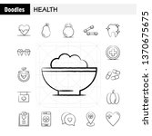 health hand drawn icon for web  ... | Shutterstock .eps vector #1370675675