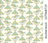 baby's pattern   Shutterstock .eps vector #137068715