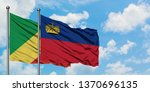 republic of the congo and... | Shutterstock . vector #1370696135