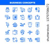 business concepts line icons...