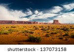 canyon land at utah | Shutterstock . vector #137073158
