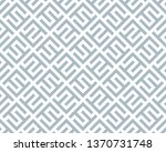 abstract geometric pattern with ... | Shutterstock . vector #1370731748