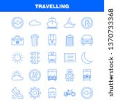 travelling line icon for web ...