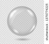 vector realistic transparent... | Shutterstock .eps vector #1370774225