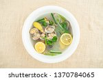 nutritious and delicious flower ... | Shutterstock . vector #1370784065