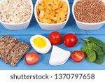 nutritious ingredients... | Shutterstock . vector #1370797658