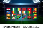 africa nations soccer cup... | Shutterstock .eps vector #1370868662