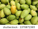 green mangoes singapore ... | Shutterstock . vector #1370872385